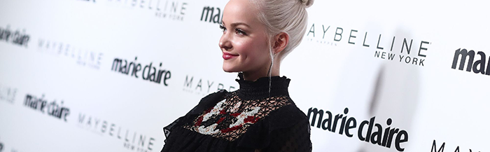 [Gallery] Dove Cameron at  the Marie Claire's 2017 'Fresh Faces' Celebration.